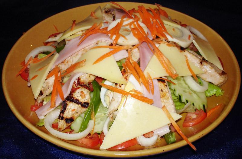 Chef Salad Pizza Choice